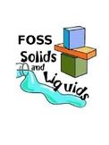 FOSS Solids and Liquids Student Notebook