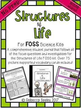 FOSS- Structures Of Life: A Kid Friendly Science Journal