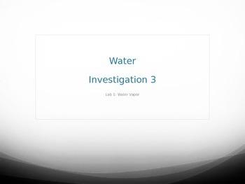 FOSS Water Unit - Evaporation Experiment PowerPoint