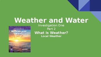 FOSS Weather & Water Investigation 1.2