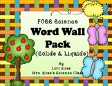 FOSS Word Wall Cards Pack