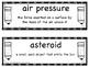 FOSS vocabulary - Earth and Sun - 5th grade