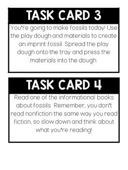 FOSSIL ACTIVITIES
