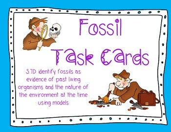 FOSSIL TASK CARDS
