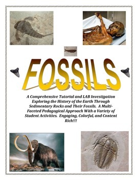 FOSSILS:  NSTA Submitted - Colorful and Fun (BRINGS THE PAST TO LIFE!)