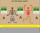 FOSSILS~ Saint Saens~ Halloween, Smartboard,ti tika, endin