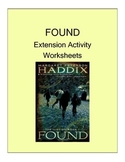 FOUND (MARGARET PETERSON HADDIX) NOVEL EXTENSION ACTIVITY