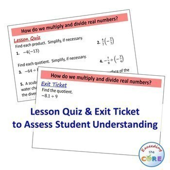 FOUNDATIONS FOR ALGEBRA Mini-Lessons & Guided Practice -Algebra 1 Back to School