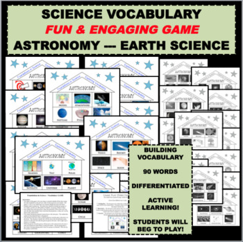 FOUNDATIONS IN SCIENCE Astronomy Earth Science Terms Word