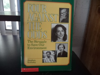 FOUR AGAINST THE ODDS   ISBN 0-590-44743-2