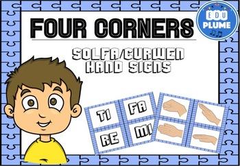FOUR CORNERS - SOLFA/CURWEN HAND SIGNS