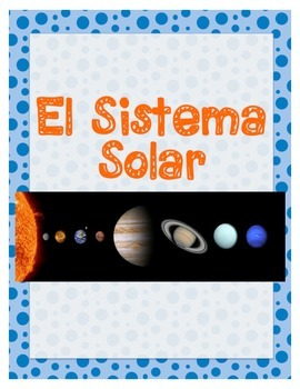 Lesson Plan & Activities BUNDLE: El Sistema Solar - Spanis
