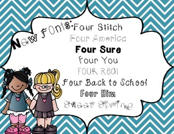 FOUR Fonts
