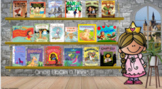 FOUR Fractured Fairy Tales Digital Libraries with BONUS Materials