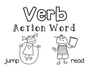 FOUR Grammar Posters: Nouns, Adjectives, Verbs, Adverbs