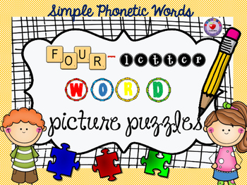 WORD PUZZLES (phonetic 4 letter words)