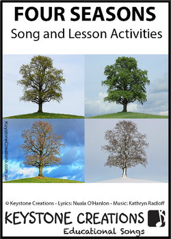 'FOUR SEASONS' (Pre K-3) ~ Song Package l Distance Learning