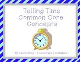 Time Concepts: 4 Interactive Clock Smartboard Lessons (Com