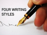 FOUR WRITING STYLES POWER POINT