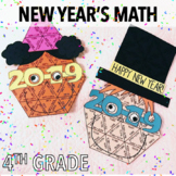 FOURTH GRADE NEW YEARS ACTIVITIES - MATH PROJECT