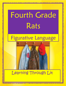 FOURTH GRADE RATS by Jerry Spinelli - Figurative Language