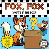 FOX BOX BOOK & BUNDLE! PREPOSITIONS worksheets Early Literacy