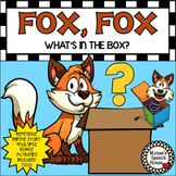 FOX BOX BOOK & BUNDLE! PREPOSITIONS worksheets Early Literacy