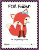 FOX Folder {Student Organization Folder}