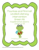 F&P Leveled Literacy Intervention Supplementary Kit~Green