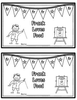 FR Blend: Frank Loves Food (Booklet/Story)