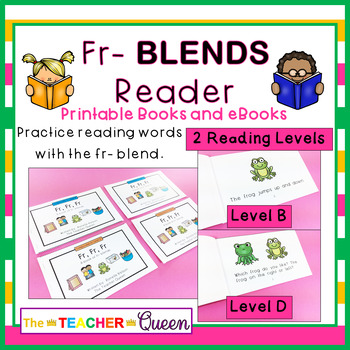 FR- Blend Readers Levels B and D (Printable and Projectable Books)