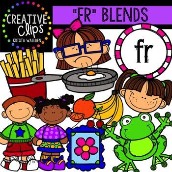 FR Blends {Creative Clips Digital Clipart}