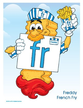 FR (Freddy French Fry) Blend Buddy Poster
