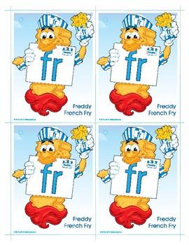 FR (Freddy French Fry) Blend Buddy Card