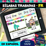 FR  Syllables in Spanish - Sílabas Trabadas FR - Boom Card