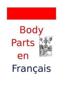 FR Vocabuleux Body Parts