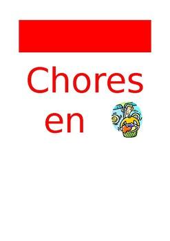 FR Vocabuleux Chores