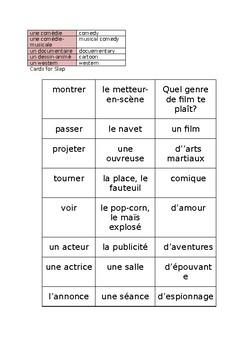 FR Vocabuleux Cinéma