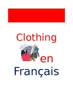 FR Vocabuleux Clothing