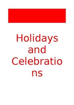 FR Vocabuleux Les fêtes et les congés