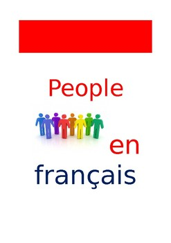 FR Vocabuleux People Words
