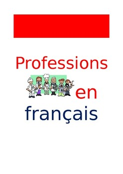 FR Vocabuleux Professions