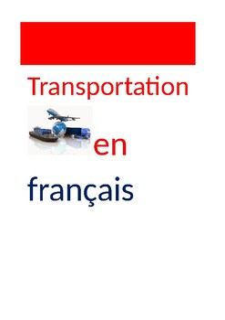FR Vocabuleux Transportation