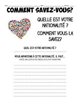 FR3 FR4 IB nationality homework