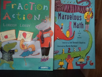 FRACTION ACTION     MARVELOUS MATH       (SETOF 2)
