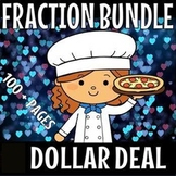 FRACTIONS FOR FIRST GRADE BUNDLE