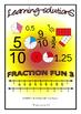 FRACTION FUN BUNDLE - 3 Workbooks + 160 Task Cards - FOUNDATION FRACTION SKILLS