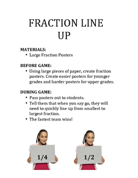 FRACTION FUN GAMES