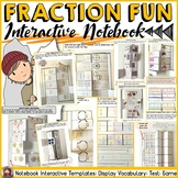 FRACTIONS: INTERACTIVE NOTEBOOK COMMON CORE ALIGNED