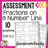 Fraction Number Line Test